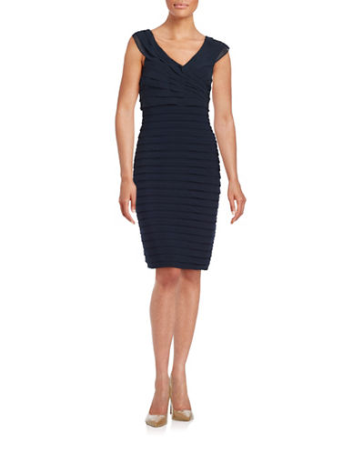 Rochie midi LORD & TAYLOR Pintucked