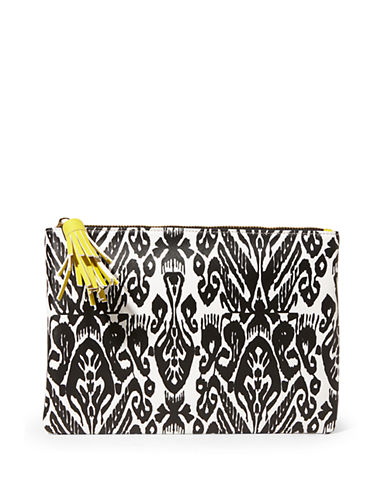 Steve Madden Faux Leather Clutch