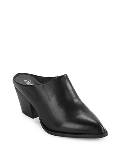 Buy Intrigue Leather Mules by Seychelles online