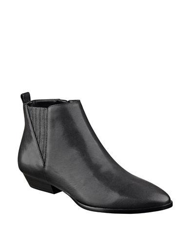 Buy Avali Leather Booties by Ivanka Trump online