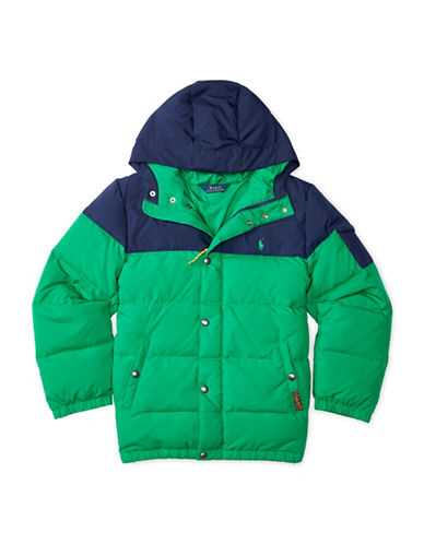 Boy's Canada Goose' 'Rupert' Water Resistant Down Jacket, Size S (7