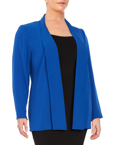 Plus Long Flyaway Jacket plus size,  plus size fashion plus size appare