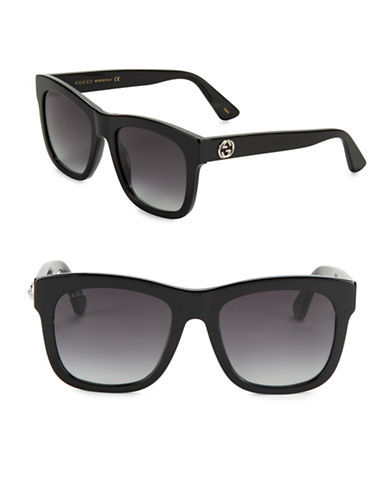 gucci female 54mm square sunglasses