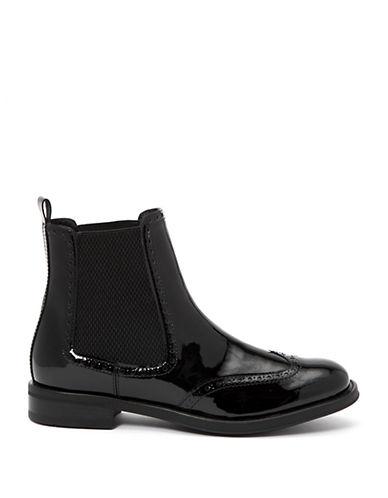 AQUATALIAIdalah Patent Leather Booties