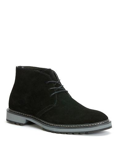 CALVIN KLEINAgdin Leather Chukka Boots