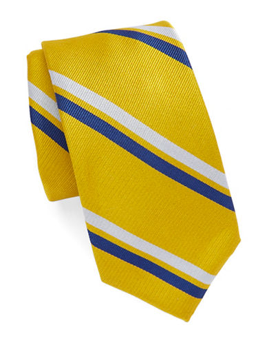 Regency Striped Silk Tie $65.00 AT vintagedancer.com