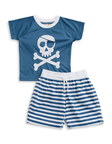 Boys 2-7 Two-Piece Nautical Swim Set plus size,  plus size fashion plus size appare