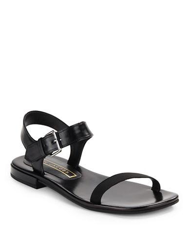 marc jacobs female 188971 elizabeth leather sandals