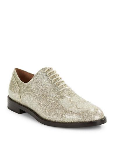 marc jacobs female clinton patent laceup shoes