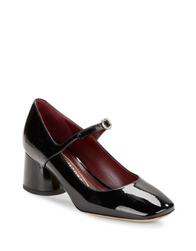marc jacobs female 188971 nicole mary jane patent leather pumps