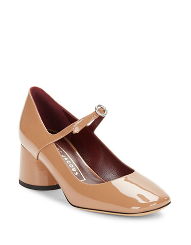 marc jacobs female 45985 nicole mary jane patent leather pumps