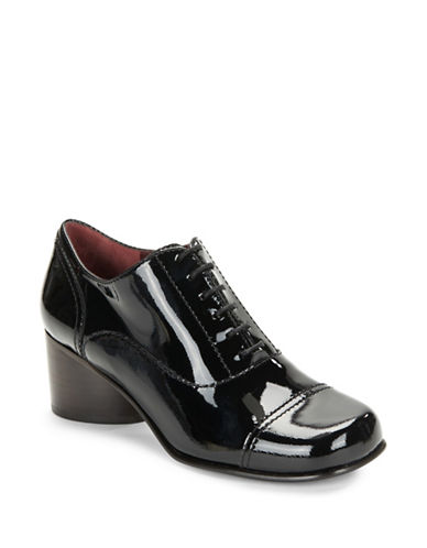 marc jacobs female 188971 polished leather oxford heels