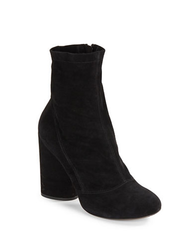 marc jacobs female 188971 grace suede ankle boots