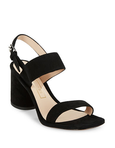 marc jacobs female emilie suede sandal heels
