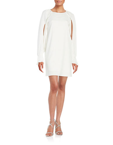 Kobi Halperin Open Sleeve Crepe Dress