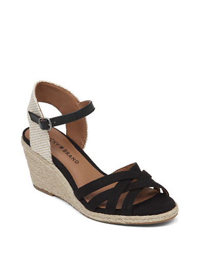 Buy Kalley Wedge Sandals by Lucky Brand online