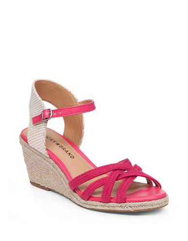 Buy Kalley3 Espadrille Wedge Sandals by Lucky Brand online
