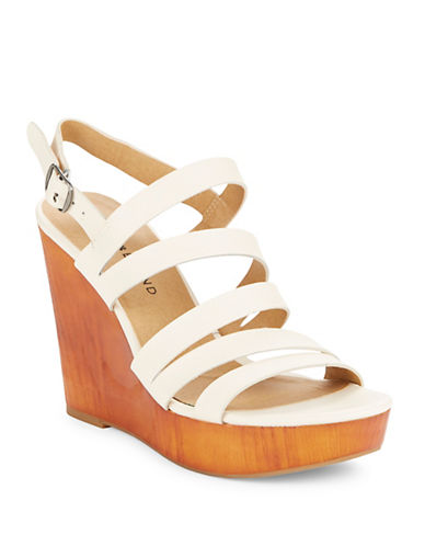 Buy Larinaa Wedge Sandals by Lucky Brand online