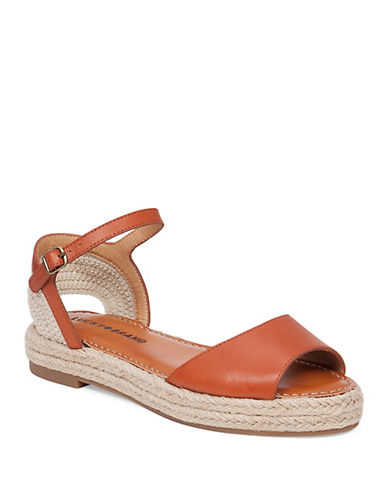 Buy LK-Flairr Leather Espadrille Wedge Sandals by Lucky Brand online
