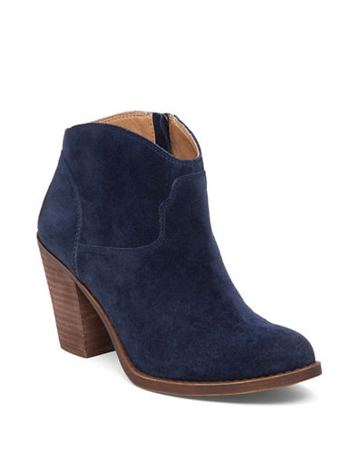 Buy Eller Leather Ankle-Length Booties by Lucky Brand online
