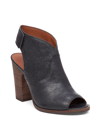Buy Lizette Peep Toe Booties by Lucky Brand online