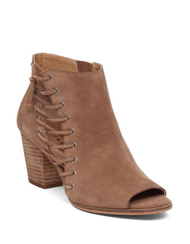 Buy Hartlee Suede Leather Booties by Lucky Brand online