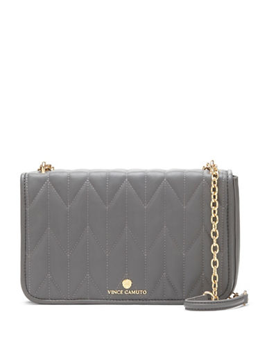 vince camuto female quilted crossbody clutch