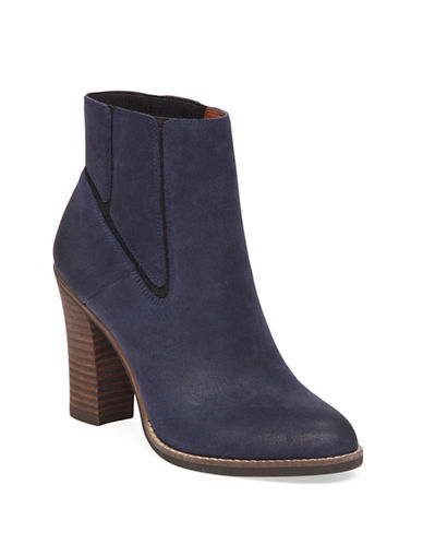 Buy Maldeev Suede Booties by Lucky Brand online