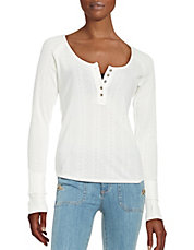 Free people tops t shirts contemporary shop what 39 s for Whats a henley shirt