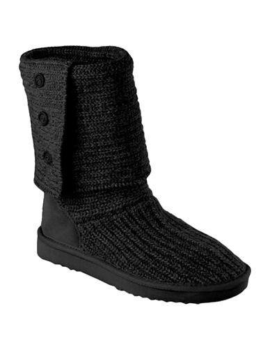 Ugg Australia Ladies Cardy Knit Flat Boots