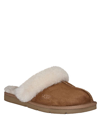 "UGG Outlet | UGGs on Sale | Ugg Boots, Ugg Slippers, Ugg Shoes | UGG'S Ugg Australia ""Cozy II"" Shearling-Lined Suede Slippers"