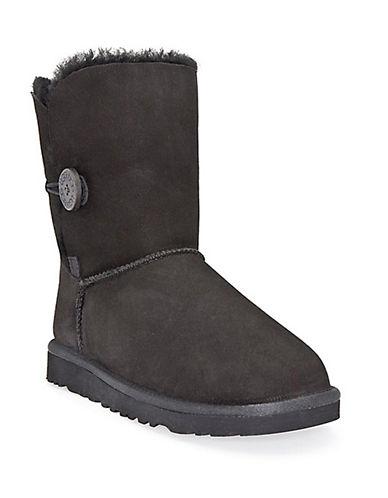 UGG AUSTRALIALadies Bailey Button Sheepskin Boots