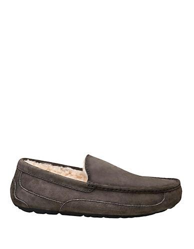 ugg australia men's ascot indoor outdoor suede slippers