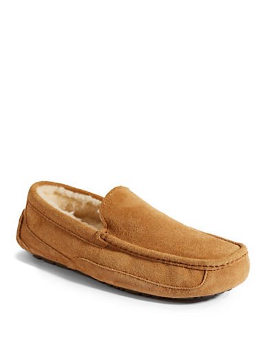 ugg men's ascot indoor outdoor suede slippers