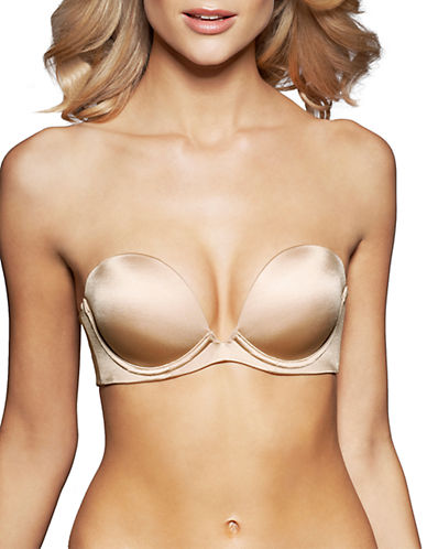 FINE LINES Low Cut Strapless Convertible Bra
