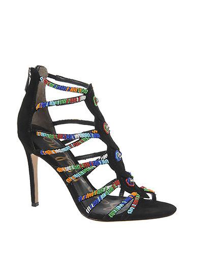SAM EDELMANSage Beaded High-Heel Sandals