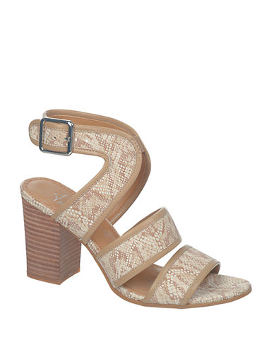 Mural snakeskin sandals by franco sarto shoes online for Clarks mural fresco boots