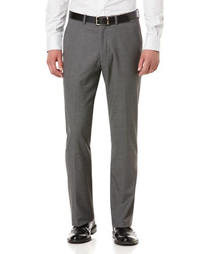 PERRY ELLIS Micro Check Stripe Dress Pants