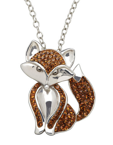 LORD & TAYLORSterling Silver Smoked Topaz Crystal Pendant