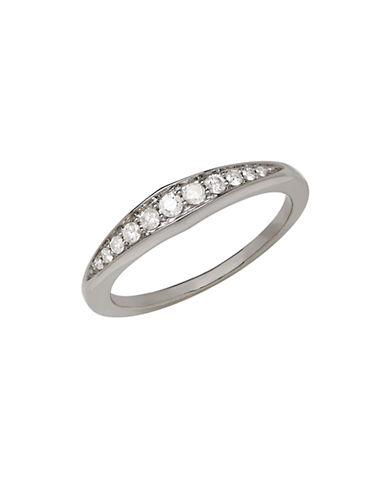 LORD & TAYLOR14K White Gold Diamond Ring