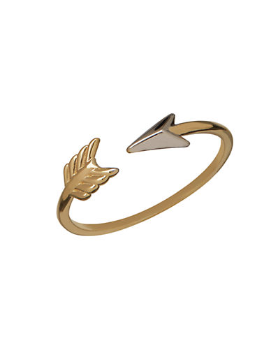 LORD & TAYLOR 14K Yellow Gold Arrow Ring