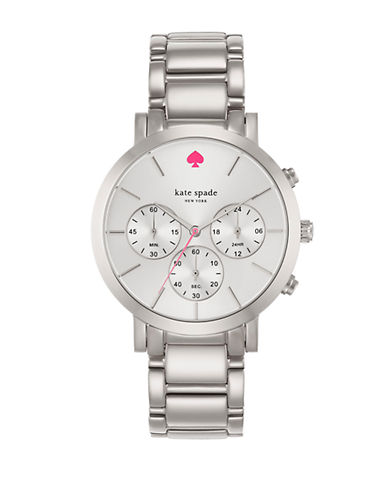 KATE SPADE Ladies Gramercy Grand Stainless Steel Chronograph Watch