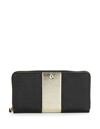 Kate Spade New York Racing Stripe Lacey Leather Wallet