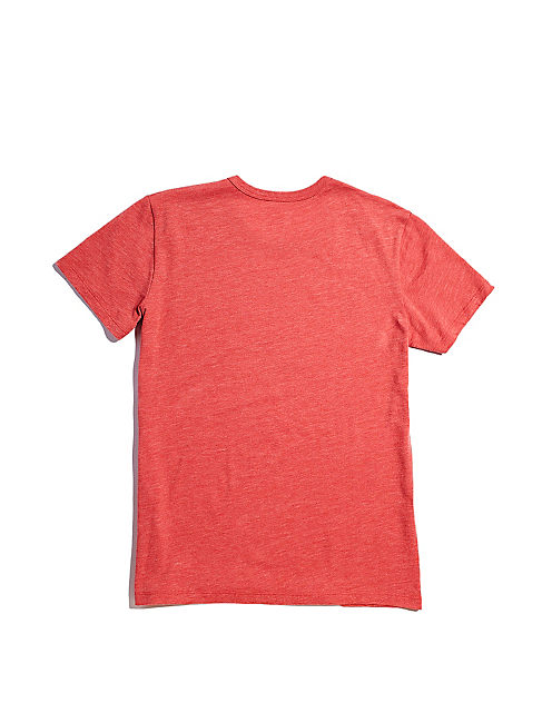 FENDER RETRO TEE, MINERAL RED