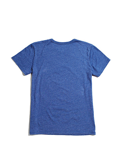 FENDER  BEAR TEE, DUSTY BLUE