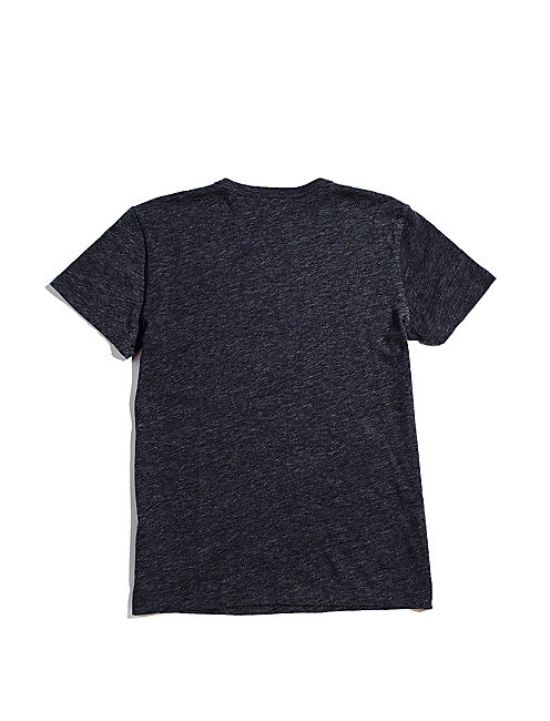 FENDER ROCK ON  TEE, BLACK HEATHER