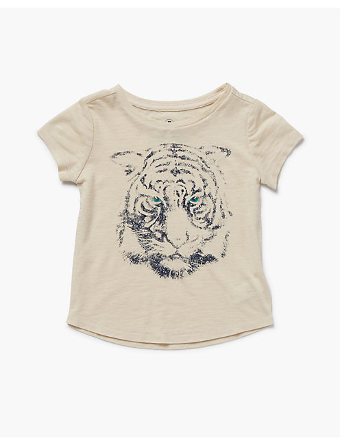 TIGER EYE TEE, #2413 NIGORI