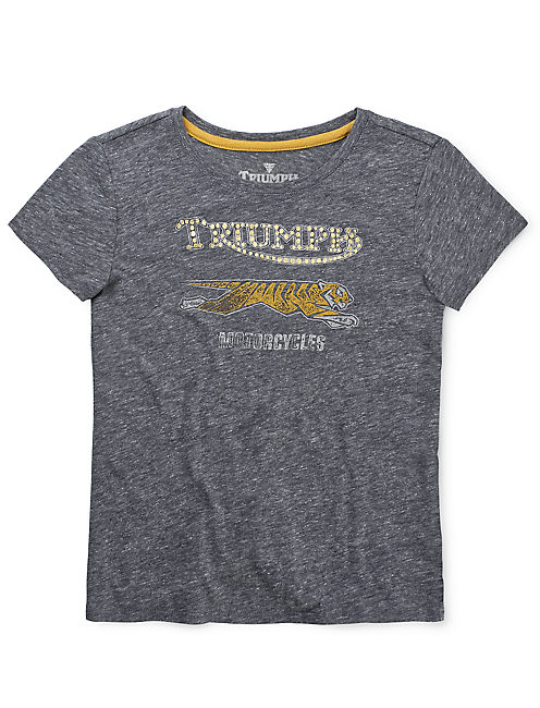 TRIUMPH TEE, HEATHER GREY