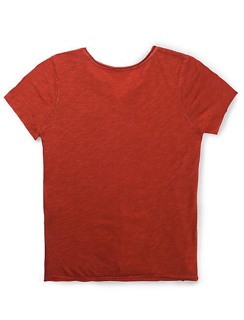 VINTAGE MATCHBOOK TEE, #6689 VINTAGE RUST RED