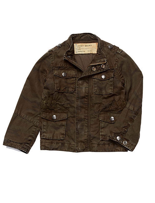 MILITARY JACKET, OLIVE NIGHT